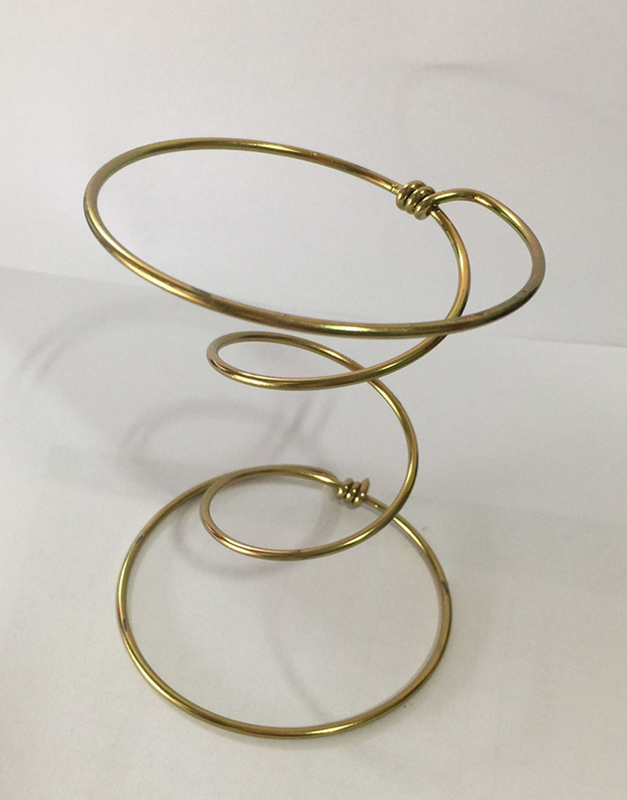 Gold Plated Furniture Coil Springs For Sofa Cushion High Termaperature Treatment